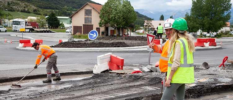 Sécurité Humanys Travail Temporaire Pendant le chantier